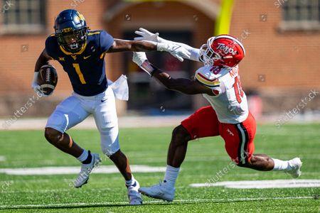 Editorial image of NCAA Football West Virginia vs Maryland, College Park, USA - 04 Sep 2021