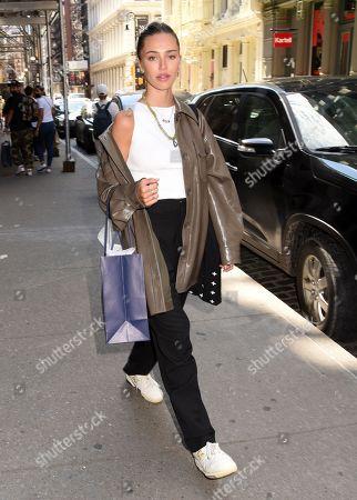 Editorial picture of Deillah Hamlin and Ameila Hamlin shopping at Ksubi, New York, USA - 04 Sep 2021