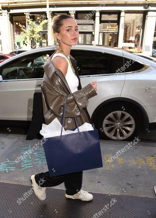 Editorial photo of Deillah Hamlin and Ameila Hamlin shopping at Ksubi, New York, USA - 04 Sep 2021
