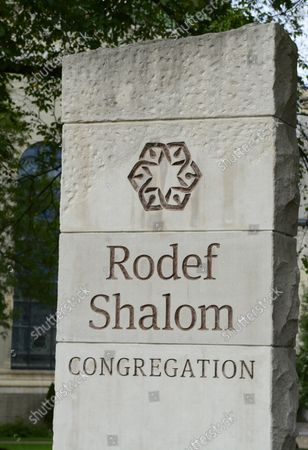 Rodef Shalom Temples in Pittsburgh is the site for funeral services for Cecil and David Rosenthal at the on October 30, 2018. The brothers where victims of the mass shooting where a gunman kill 11 people at the Tree of Life Synagogue.