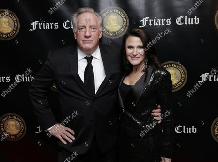 Alan Zweibel arrives on the red carpet when the Friar's Club Honors Billy Crystal with their Entertainment Icon Award at The Ziegfeld Ballroom on November 12, 2018 in New York City.