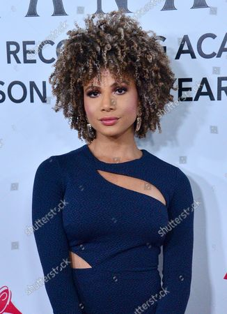 Doralys Britto arrives at the Latin Grammy Person of the Year gala honoring Mexican rock band Mana at the Mandalay Bay Convention Center in Las Vegas, Nevada on November 14, 2018.