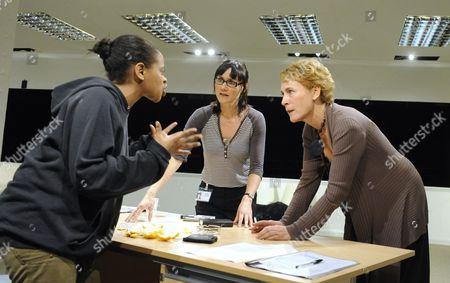 'Blue/Orange' - Ayesha Antoine (Juliet), Esther Hall (Emily) and  Helen Schlesinger (Hilary)