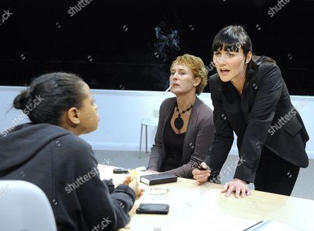 'Blue/Orange' - Ayesha Antoine (Juliet)  Helen Schlesinger (Hilary) and Esther Hall (Emily)