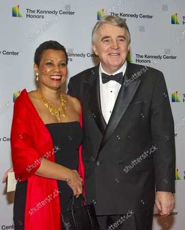 Harolyn Blackwell and her husband, Peter Greer, arrive for the formal Artist's Dinner honoring the recipients of the 41st Annual Kennedy Center Honors hosted by United States Deputy Secretary of State John J. Sullivan at the US Department of State in Washington, D.C. on Saturday, December 1, 2018. The 2018 honorees are: singer and actress Cher; composer and pianist Philip Glass; Country music entertainer Reba McEntire; and jazz saxophonist and composer Wayne Shorter. This year, the co-creators of Hamilton, writer and actor Lin-Manuel Miranda, director Thomas Kail, choreographer Andy Blankenbuehler, and music director Alex Lacamoire will receive a unique Kennedy Center Honors as trailblazing creators of a transformative work that defies category.