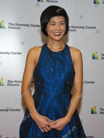 Violinist Jennifer Koh arrives for the formal Artist's Dinner honoring the recipients of the 41st Annual Kennedy Center Honors hosted by United States Deputy Secretary of State John J. Sullivan at the US Department of State in Washington, D.C. on Saturday, December 1, 2018. The 2018 honorees are: singer and actress Cher; composer and pianist Philip Glass; Country music entertainer Reba McEntire; and jazz saxophonist and composer Wayne Shorter. This year, the co-creators of Hamilton, writer and actor Lin-Manuel Miranda, director Thomas Kail, choreographer Andy Blankenbuehler, and music director Alex Lacamoire will receive a unique Kennedy Center Honors as trailblazing creators of a transformative work that defies category.