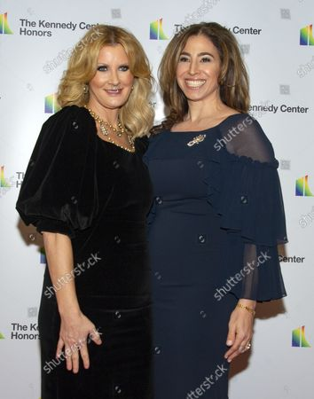 TV personality Sandra Lee, left, and Alexandra Stanton arrive for the formal Artist's Dinner honoring the recipients of the 41st Annual Kennedy Center Honors hosted by United States Deputy Secretary of State John J. Sullivan at the US Department of State in Washington, D.C. on Saturday, December 1, 2018. The 2018 honorees are: singer and actress Cher; composer and pianist Philip Glass; Country music entertainer Reba McEntire; and jazz saxophonist and composer Wayne Shorter. This year, the co-creators of Hamilton, writer and actor Lin-Manuel Miranda, director Thomas Kail, choreographer Andy Blankenbuehler, and music director Alex Lacamoire will receive a unique Kennedy Center Honors as trailblazing creators of a transformative work that defies category.