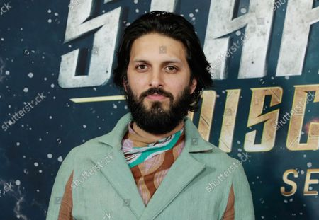 Shazad Latif arrives on the red carpet at the 'Star Trek: Discovery' Season 2 Premiere at the Conrad New York on January 17, 2019 in New York City.