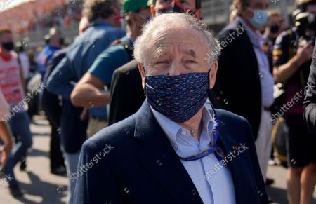 Stock Image of President Jean Todt ahead of the Formula One Dutch Grand Prix, at the Zandvoort racetrack, Netherlands