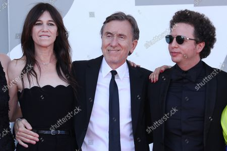 Charlotte Gainsbourg, Tim Roth and Michel Franco