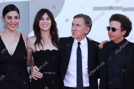 Cristina Velasco, Charlotte Gainsbourg, Tim Roth and Michel Franco