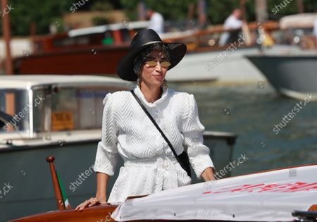 Nina Zilli arrives at the 78th Venice International Film Festival on September 5, 2021 in Venice, Italy.