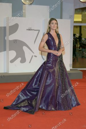 Stock Photo of 78th Venice Film Festival 2021, Red carpet film Mona Lisa and the blood moon.  Pictured: Mireia Lalaguna