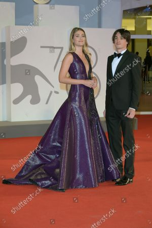 78th Venice Film Festival 2021, Red carpet film Mona Lisa and the blood moon.  Pictured: Mireia Lalaguna