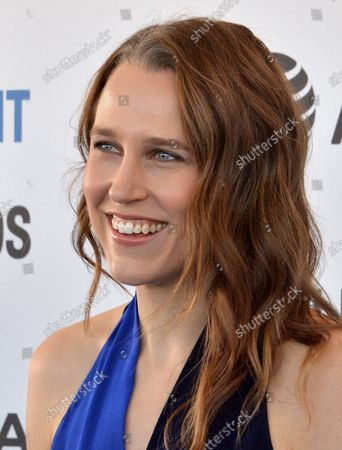 Josephine Decker attends the 34th annual Film Independent Spirit Awards in Santa Monica, California on February 23, 2019.