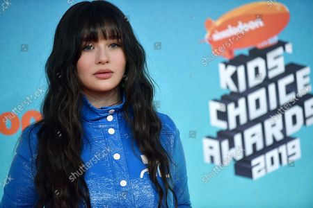 Editorial picture of Kids' Choice Awards 2019, Los Angeles, California, United States - 24 Mar 2019