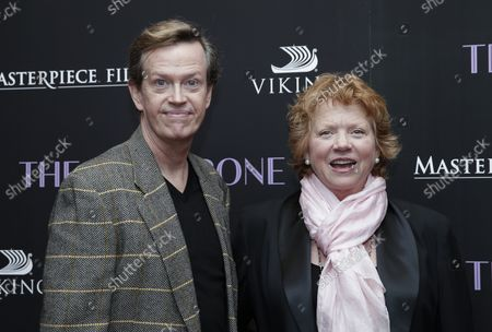 Dylan Baker arrives on the red carpet at 'The Chaperone' New York Premiere at Museum of Modern Art on March 25, 2019 in New York City.