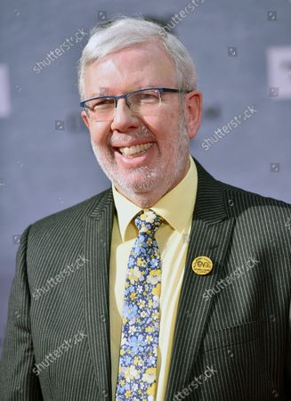 Leonard Maltin arrives for the 10th annual TCM Classic Film Festival opening night screening of 'When Harry Met Sally' at  the TCL Chinese Theatre in Los Angeles, California on April 11, 2019.