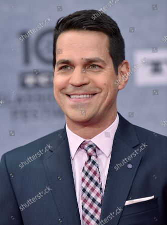 Dave Karger arrives for the 10th annual TCM Classic Film Festival opening night screening of 'When Harry Met Sally' at  the TCL Chinese Theatre in Los Angeles, California on April 11, 2019.