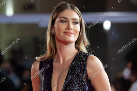 """Mireia Lalaguna attends the red carpet of the movie """"Mona Lisa And The Blood Moon"""""""