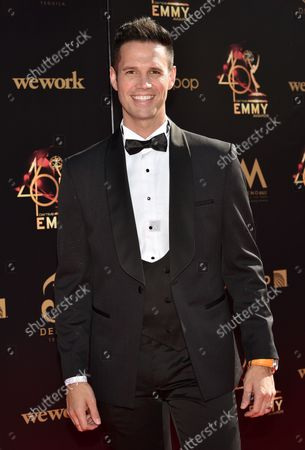David Osmond arrives on the red carpet for the 46th Annual Daytime Creative Arts Emmy Awards at the Pasadena Civic Auditorium in Pasadena, California on May 3, 2019.