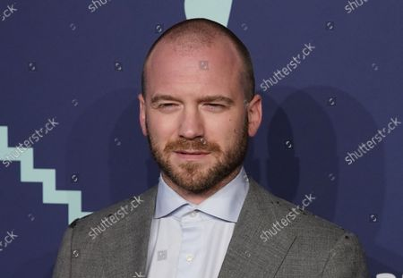 Sean Evans arrives on the red carpet at the 2019 Webby Awards at Cipriani Wall Street on May 13, 2019 in New York City.