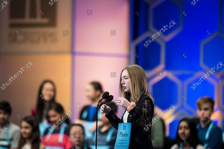 Editorial picture of 2019 National Spelling Bee, Oxon Hill, Maryland, United States - 30 May 2019