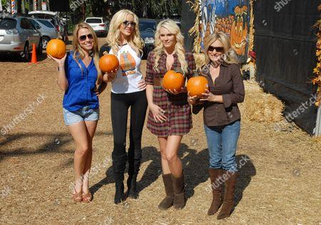 Playboy Mansion's Playmates - Jessica Hall, Kaki West and Tara Renee