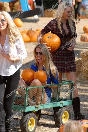 Playboy Mansion's Playmates - Kaki West and Jessica Hall