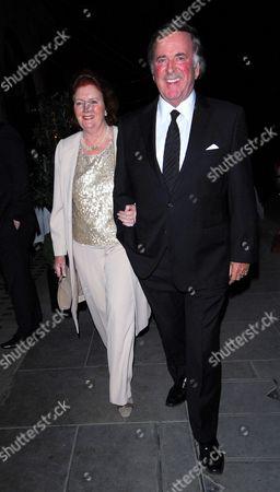 Sir Terry Wogan and his wife Helen Joyce