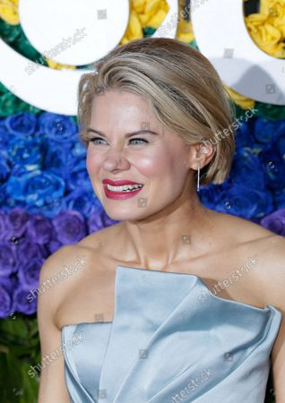 Celia Keenan-Bolger arrives on the red carpet at The 73rd Annual Tony Awards at Radio City Music Hall on June 9, 2019 in New York City.