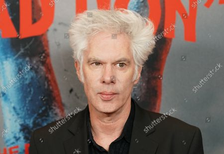 """Jim Jarmusch arrives on the red carpet at """"The Dead Don't Die""""  New York Premiere at Museum of Modern Art on June 10, 2019 in New York City."""