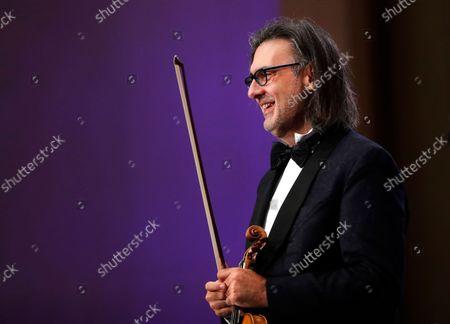 Editorial picture of George Enescu International Festival 2021 in Romania, Bucharest - 07 Sep 2021