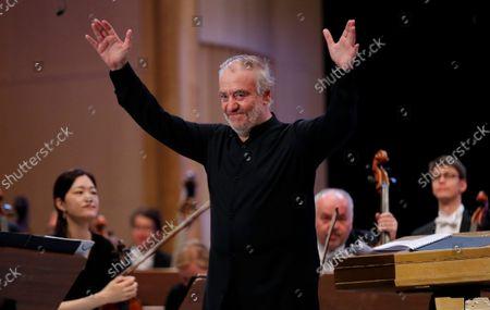 Editorial photo of George Enescu International Festival 2021 in Romania, Bucharest - 07 Sep 2021