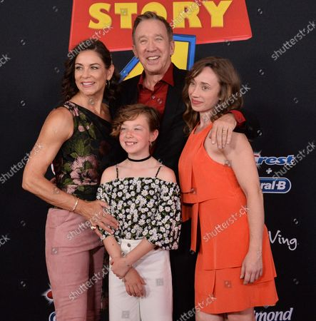 Editorial image of Toy Story 4 Premiere, Los Angeles, California, United States - 12 Jun 2019