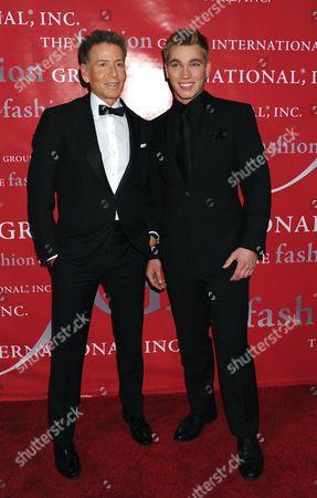 Calvin Klein and Nick Gruber