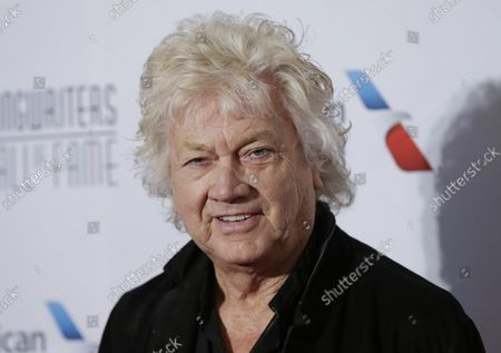 John Lodge arrives on the red carpet at the 2019 Songwriters Hall Of Fame at The New York Marriott Marquis on June 13, 2019 in New York City.