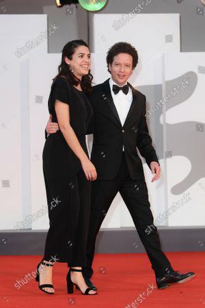 Michel Franco, Erendira Nunez Larios during La Caja premiere, 78th Venice Film Festival, Italy, 06 Sep 2021