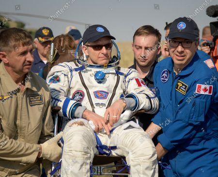 Editorial picture of Expedition 59 Soyuz MS-11 Landing in Kazakhstan, Zhezkazgan - 25 Jun 2019