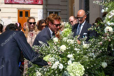 Editorial picture of Wedding of Princess Maria Anunciata of Liechtenstein and Emanuele Musini, Schottenkirche, Vienna, Austria - 05 Sep 2021