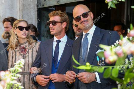 Editorial photo of Wedding of Princess Maria Anunciata of Liechtenstein and Emanuele Musini, Schottenkirche, Vienna, Austria - 05 Sep 2021