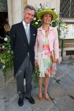 Stock Photo of Prince Guillaume of Luxembourg, Princess Sibylla of Luxembourg