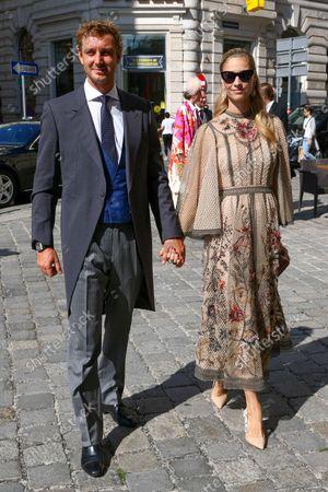 Stock Picture of Pierre Casiraghi, Beatrice Borromeo