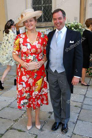 Editorial image of Wedding of Princess Maria Anunciata of Liechtenstein and Emanuele Musini, Schottenkirche, Vienna, Austria - 05 Sep 2021