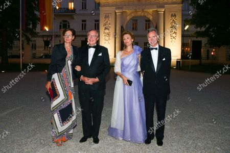 Stock Image of Princess Sibylla of Luxembourg, Prince Guillaume of Luxembourg