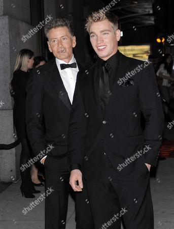 Calvin Klein and Nicholas Gruber