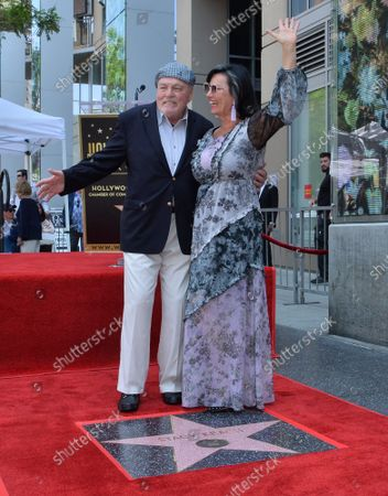 Editorial photo of Stacy Keach Fame Walk, Los Angeles, California, United States - 31 Jul 2019