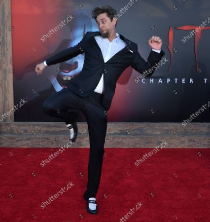 """Director Andy Muschietti attends the premiere of the motion picture horror film """"It Chapter Two"""" at the Regency Village Theatre in the Westwood section of Los Angeles on Tuesday, August 26, 2019. Storyline: Twenty-seven years after their first encounter with the terrifying Pennywise, the Losers Club have grown up and moved away, until a devastating phone call brings them back."""