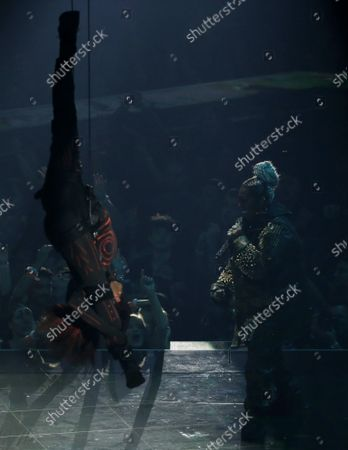 Missy Elliott performs at the 36th annual MTV Video Music Awards at the Prudential Center in Newark, NJ on Monday, August 26, 2019.