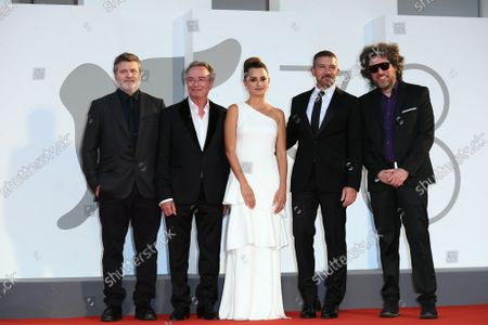 Editorial photo of Competencia Oficial premiere, 78th Venice International Film Festival, Italy - 04 Sep 2021